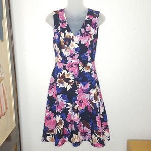 Plenty By Tracey Reese Stich Fix Floral Dress 0
